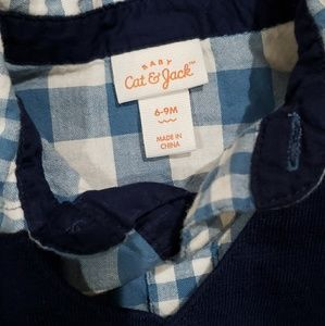 Cat & Jack Matching Sets - Cat and Jack three piece boys set 6-9 months